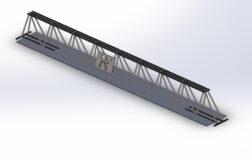 trave tralicciata prefabbricata TTR - piatto acciaio - TR Technology